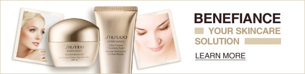Shiseido Benefiance Skincare solution
